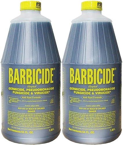 discount Barbicide discount Disinfectant Concentrate, 64 Oz outlet online sale (2 Bottles) outlet online sale