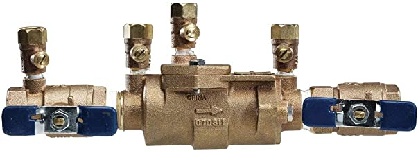 Febco 0683039 LF850-QT Double Check Backflow Valve Quarter Turn Shutoff, 3/4