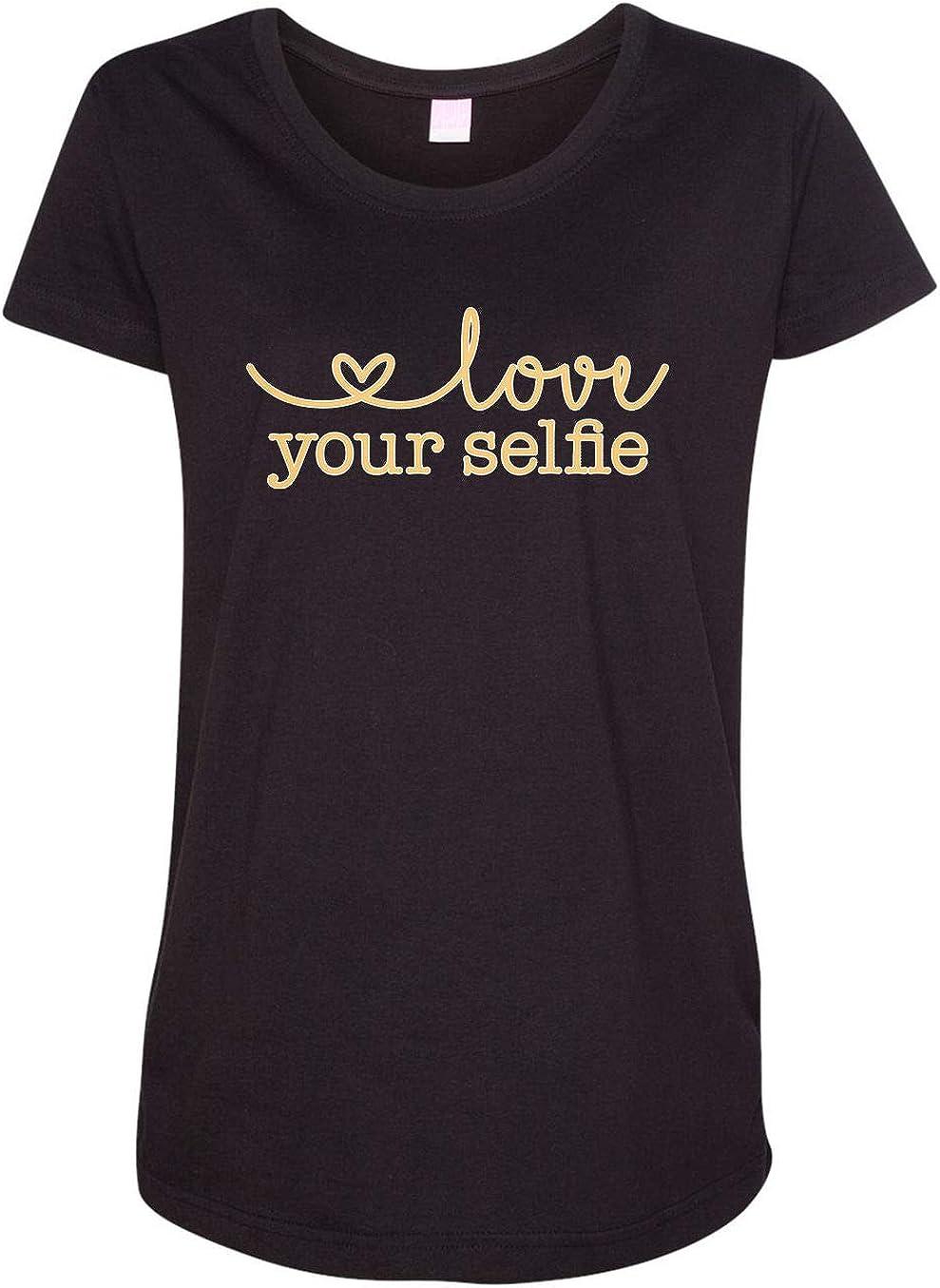 HARD EDGE DESIGN Women's Love Your Selfie T-Shirt