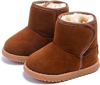 Botas Bebé Unisex, Morbuy Botas de Nieve Zapatos para Niña Niño Invierno e Mantente Caliente Casual Martin Botas Charming ...