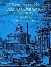 Piano Concertos Nos. 11-16 in Full Score (Dover Music Scores)