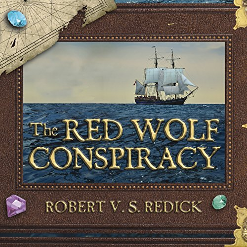 The Red Wolf Conspiracy audiobook cover art