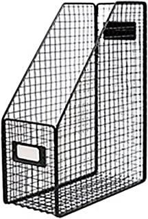 Nai-storage Estante de Almacenamiento de música del álbum, Carpeta de Escritorio Libro de Almacenamiento en Rack de Hierro Estantería de Libros, Calidad Biblioteca Oficina Aula de la Escuela Divisor