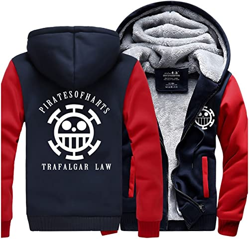 One Piece Winter Trafalgar Law Jacke