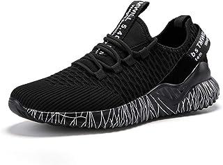 ADFD Zapatos de correr ligeros y transpirables para hombres y mujeres, zapatos deportivos de moda al aire libre, adecuados...