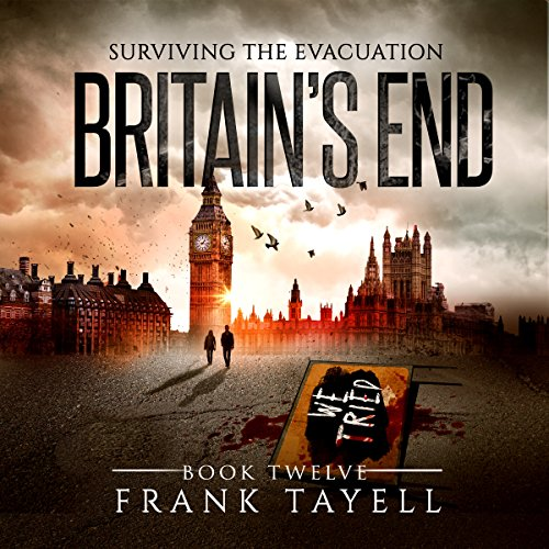 Surviving the Evacuation, Book 12 audiobook cover art