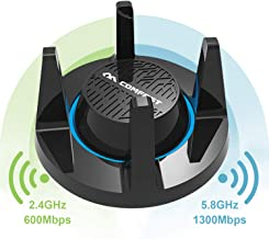 AC1900 WiFi Adapter USB 3.0, 1900Mbps Dual Band with 2.4G 600Mbps/5.8G 1300Mbps, 4x3dBi External Antennas, Long Range Wi-Fi Adapter,Compatible with Windows XP/7/8/8.1/10, Mac OS 10.6~10.13