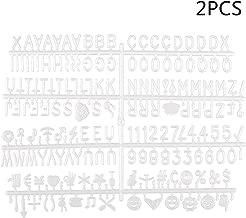 Couleur: Noir LED Light Box nest Pas Inclus ACAMPTAR 104 Pcs Cin/éMatique Lightbox Remplacement Lettres et Chiffres Signes Noir pour A4 Light Up Letter Box Sign Message Board 65.4X35Mm