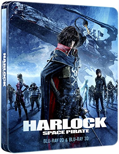 Harlock Space Pirate Collectors Edition Steelbook 3D/2D [Blu-Ray] [Import]