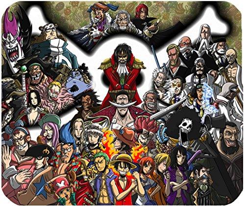 Alfombrilla de ratón One Piece Luffy gadget Piratas...