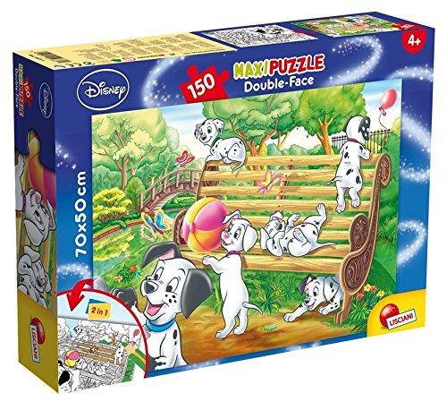 Puzzle dwustronne maxi 101 Dalmatynczyków 150