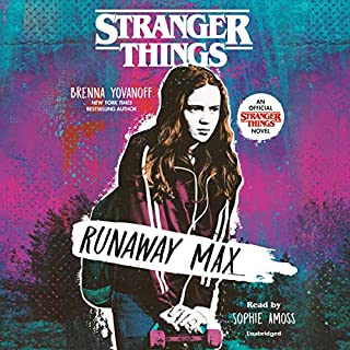 Stranger Things: Runaway Max audiobook cover art