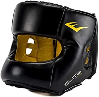 Everlast Elite Headgear with Synthetic Leather