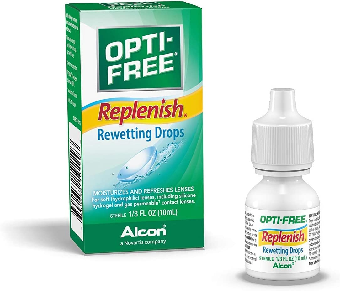 OPTI-FREE Replenish Rewetting Drops 10 Packs Al sold out. 25% OFF 3 of mL