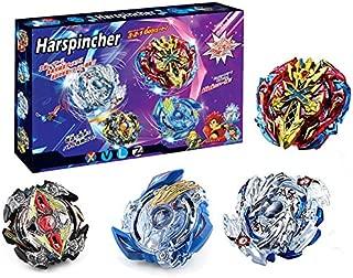 HARSPINCHER Bey Battle Burst Evolution Star Storm Battle Set -- Complete Set with Burst Beystadium, Battling Tops, & Launchers -- Age 8+ …