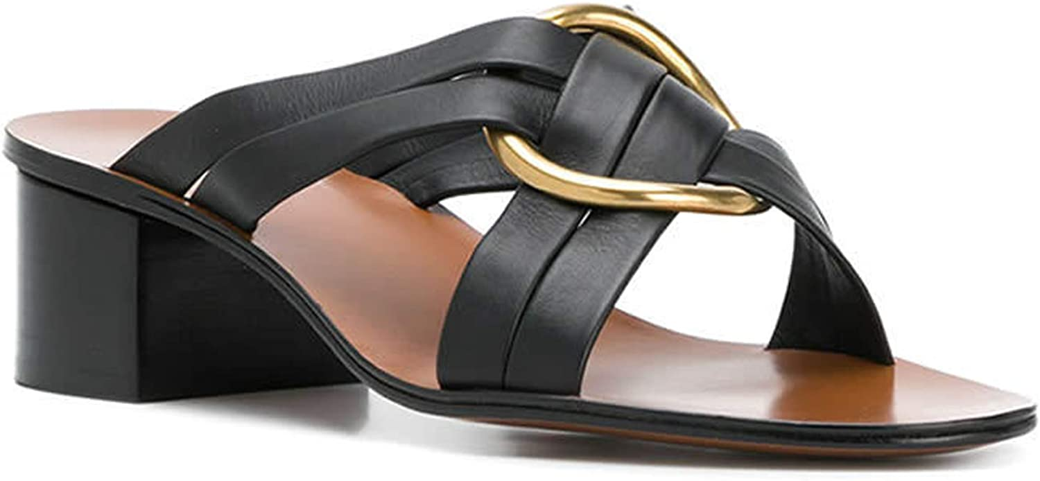 Chloé Women's Leather High Heel Sandals shoes