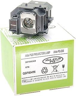 Alda PQ-Premium, Projector Lamp voor EPSON EH-DM3 projectoren, lamp met behuizing