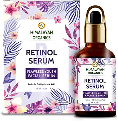 Himalayan Organics Retinol Serum for face Capture Youth with Hyaluronic Acid and Vitamin C & E - 30ml product image