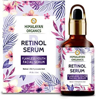 Himalayan Organics Retinol Serum for face Capture Youth with Hyaluronic Acid and Vitamin C & E - 30ml