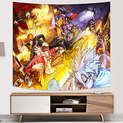 Japanese Anime Tapestry Anime Tapestry Wall Decoration for Living Room Dorm Wall Hanging Birthday Gifts 50x60in