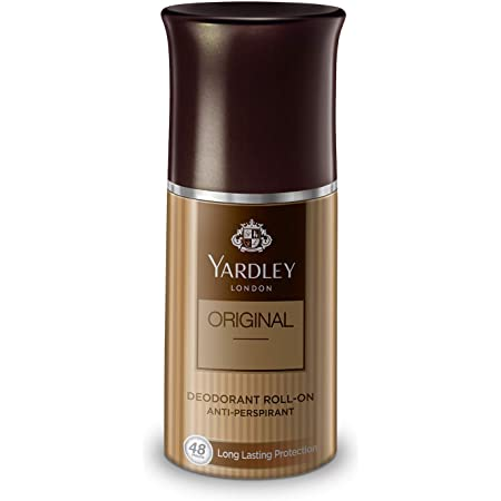 Yardley London Original Deodorant Roll-On for Men, 50 ml