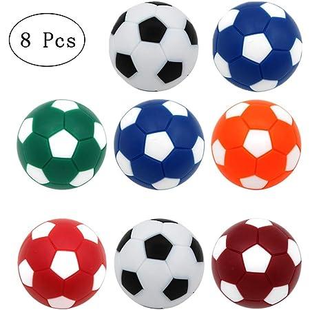 12Pcs Tisch Fußball Foosballs Ersatz Bälle Mini Bunte 32MM Plastik