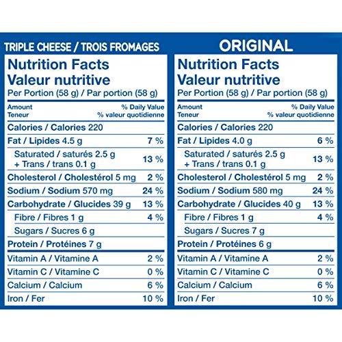 Dîner Kraft Dinner Macaroni Fromage Original 12 portions individuelles de 58g - 3