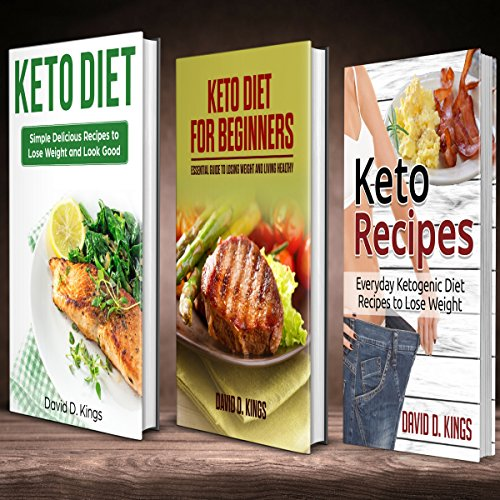 Keto Diet 3 Manuscripts: Keto Diet For Beginners, Keto Recipes, and Keto Diet audiobook cover art