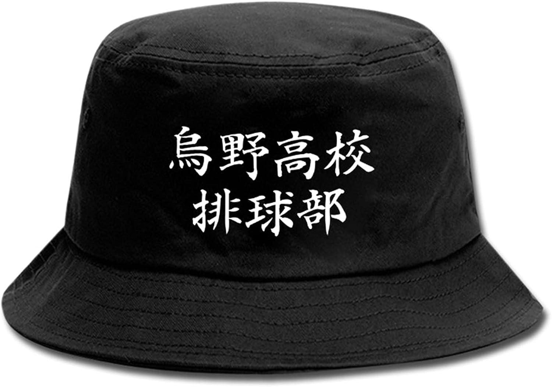WANHONGYUE Haikyuu Anime Bucket Hat Fishing Hat Unisex Wide Brim