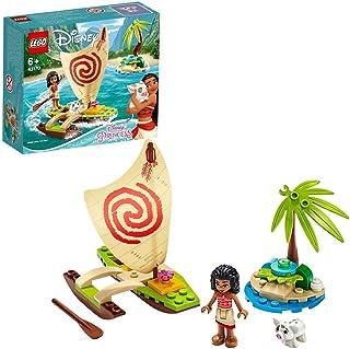 مجموعة مغامرة المحيط مع شخصية اميرة ديزني موانا وشخصية بوا الخنزير وشراعي كاتاماران من ليغو 43170