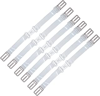 Elastic Non-slip Bra Strap Holder Adjustable Happy Strap Clear/Assorted Color