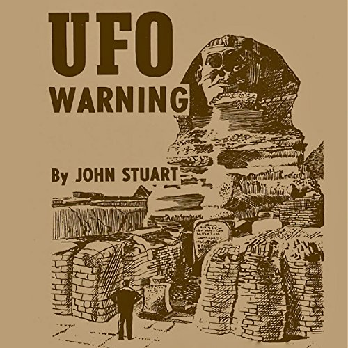 UFO Warning audiobook cover art