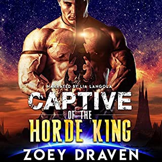 Captive of the Horde King audiobook cover art