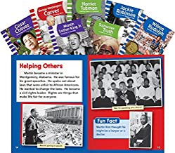 Teacher Created Materials - Classroom Library Collections: Cultural Diversity - 7 Book Set - Grades 1-2 - Guided Reading Level E - M