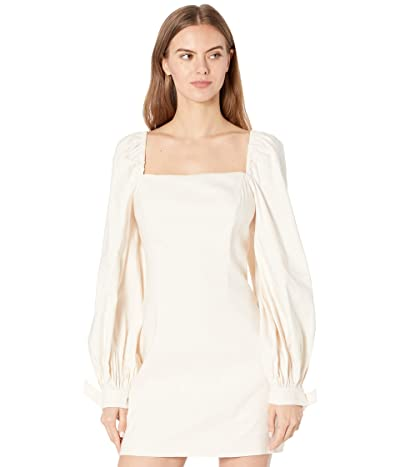 Ted Baker Britnie Fitted Mini Dress with Blouson Sleeves