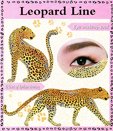 Eyeliner Wildkatzen Lidschattenkontur Schablone (2er Set) für lupenreine Smokey Eyes und Cateyes