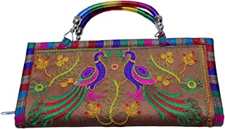 New Fancy Latest digne Womens Wallet shree textiles (chiku)
