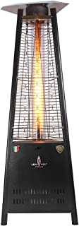 Lava Heat Italia Patio LHI-CAPRI-42BTU-BLK-NG Heater Capri Natural Gas, 42000 BTU, Hammered Black