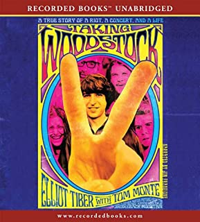 Taking Woodstock audiobook cover art