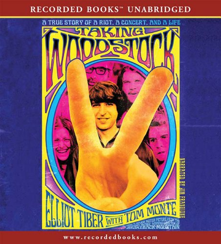 Taking Woodstock audiobook cover art