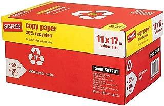 copy paper dimensions