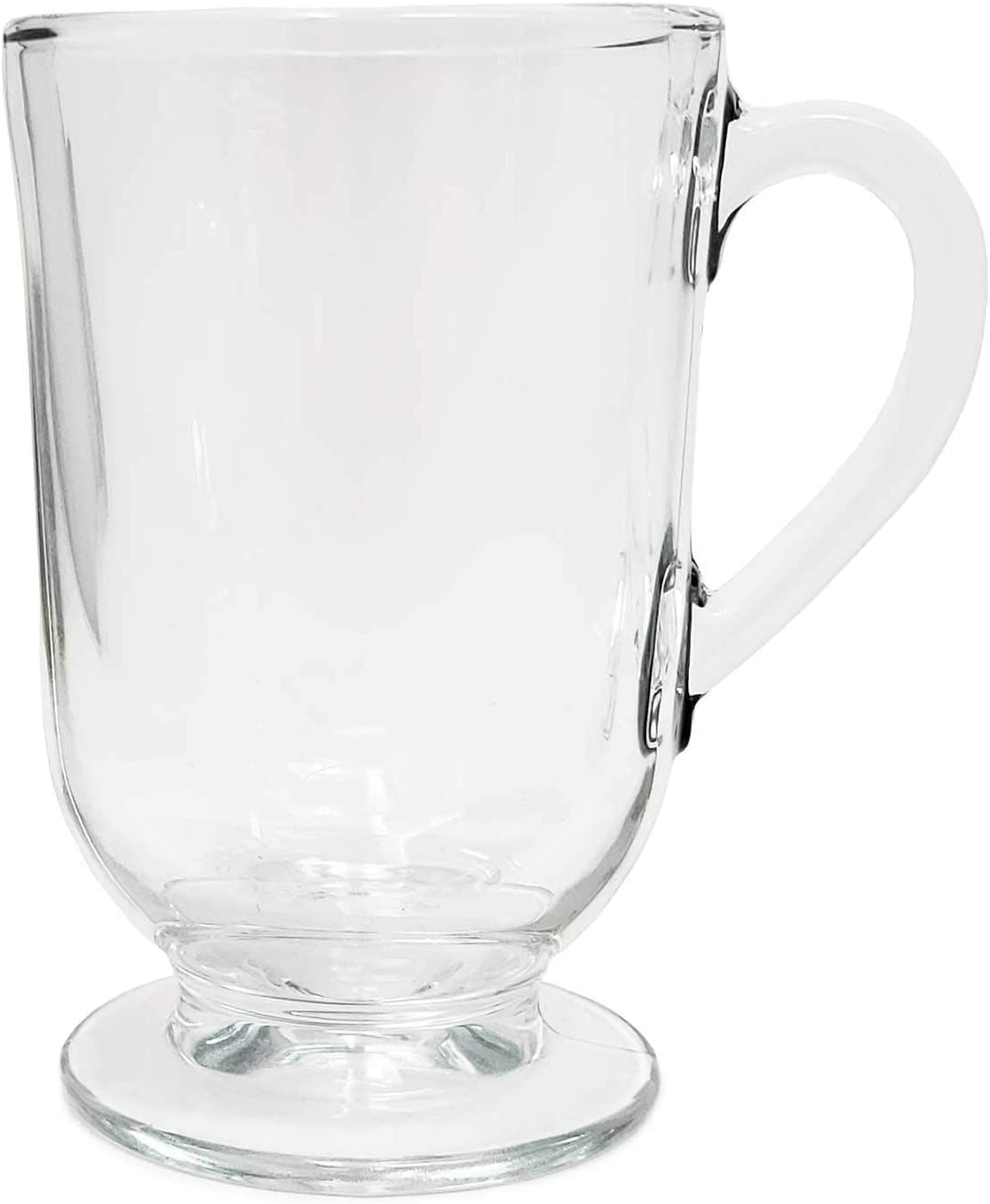 Set of 12 Irish Coffee Glass Mugs oz.Thick Wall Max 49% OFF Footed 10.5 Product Glas
