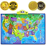 BEST LEARNING i-Poster My USA Interactive Map -...