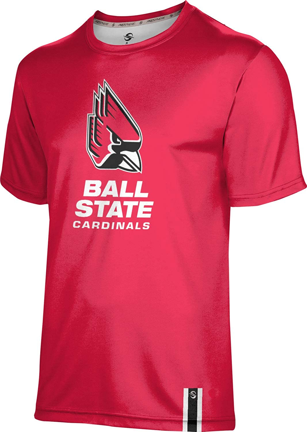 ProSphere Ball State University Solid T-Shirt Men's Performance Max 42% Luxury goods OFF