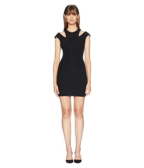 Versace Collection Cut Out Shoulders Cap Sleeve Dress