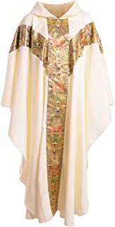 BLESSUME Priest Celebrant Chasuble Catholic Church Father Mass Vestments Robe