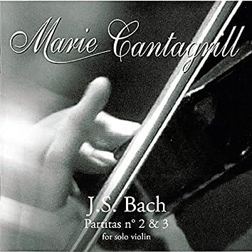 Bach: Violin Partitas Nos. 2 & 3