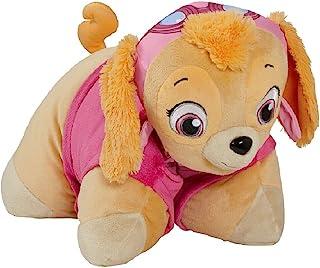 "Pillow Pets Nickelodeon Paw Patrol, Skye Helicopter Pilot, 16"" Stuffed Animal Plush Toy"