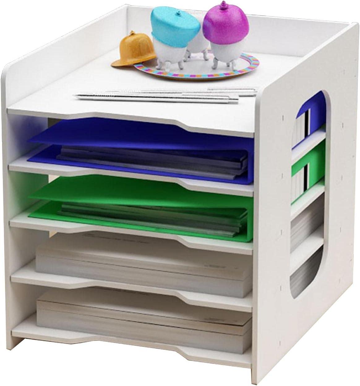 BWWNBY Desk File Sorter Organiser Tray Quantity limited Rack Offic Holder Max 51% OFF Storage