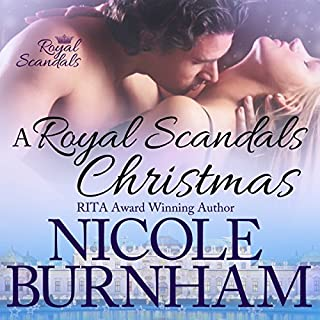 A Royal Scandals Christmas audiobook cover art